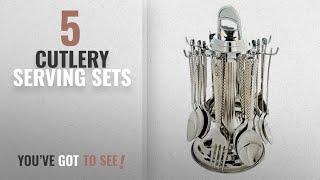 Top 10 Cutlery Serving Sets [2018]: Navisha Pogo Stainless Steel Cutlery Set 25 Pc.