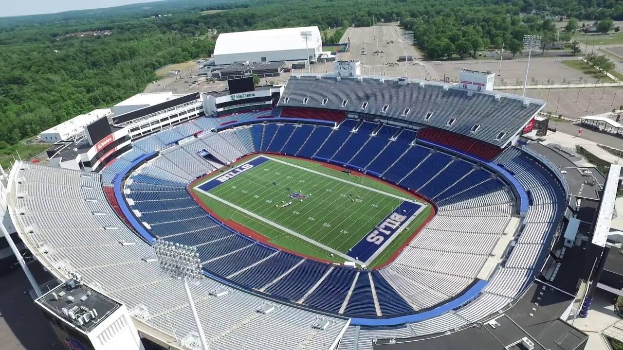 Inspire 1 Buffalo Bills Stadium Youtube