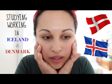 Why I went to school in Denmark | Working in Iceland & Denmark!