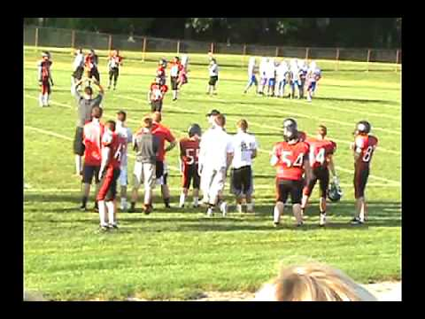 Salem Vs. Western Reserve 9th Grade Football  9-4-2014