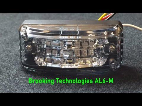 Axixtech AL6M Universal Mount Led Light (close-up)