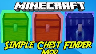 minecraft mods simple chest finder mod 1 8 1 7 10