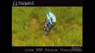 Sacred 2: Fallen Angel PC Games Trailer - Magic and