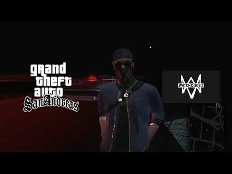 GTA SAN ANDREAS PC - WATCHDOG 2 MOD