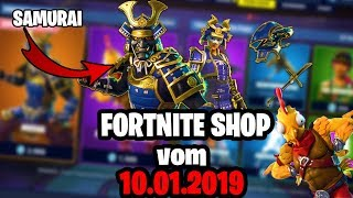 🛒FORTNITE ITEM 💥 the 10.01 - SHOP daily Fortnite shop today 10 January 2019