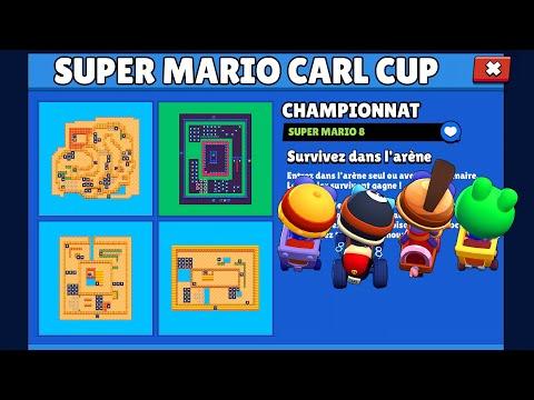 CHAMPIONNAT SUPER MARIO CARL BRAWL STARS nouveau mode créatif