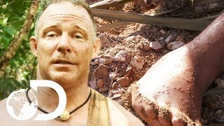 Foot Injury Develops Into A Potentially Life Threatening Situation | Naked And Afraid