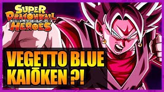 VEGETTO BLUE KAIŌKEN ?! VS CUMBER SUPER SAIYAN ?! SUPER DRAGON BALL HEROES EPISODE 3 - LPB #111