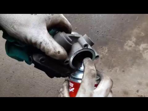Антикризис Чистим дроссель на Форд Фокус 2 1.6 115л c