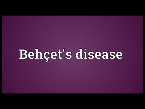 Behçet's disease Meaning