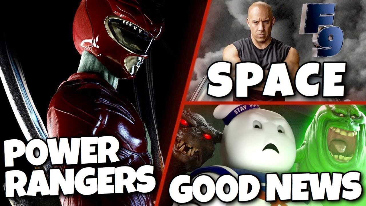 Power Ranger Reboot, Fast 9 in Space, Ghostbusters Afterlife & MORE!