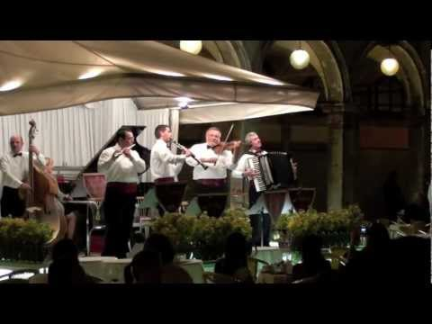 Venice Italy at Night Piazza San Marco live music