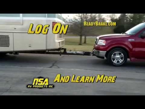 READY BRUTE ELITE TOW BAR WITH READY BRAKE