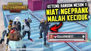NIAT NYAMAR, MALAH KECIDUK SAMA RANDOM PLAYER MESUM !!! DUAR MEM... - PUBG MOBILE INDONESIA