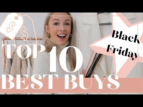 BLACK FRIDAY TOP 10 BEST PURCHASES // Fashion Mumblr