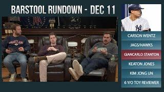 Barstool Rundown - December 11, 2017