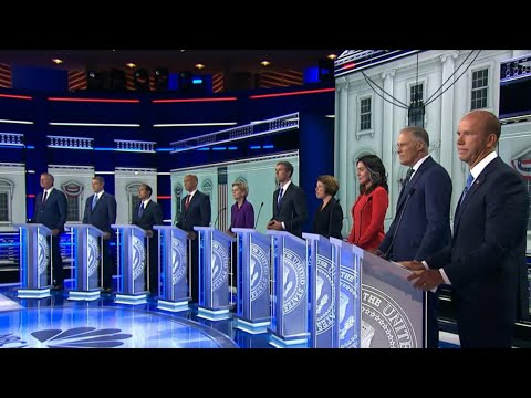 Here's how the first Democratic debate in Miami went