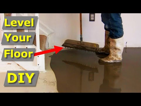 How to Self Level Concrete Floors Like Pros - Self Leveler