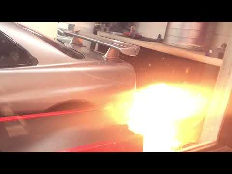 Exhaust backfire