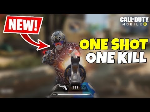 *NEW* ONE SHOT ONE KILL MODE GAMEPLAY IN CALL OF DUTY MOBILE!