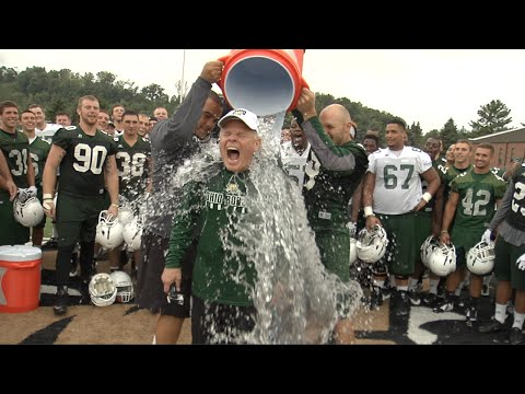 Ice Bucket Challenge: Frank Solich and Ohio Football Staff Take the Challenge for ALS Awareness