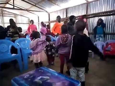 Children Signing to The Lord - Kibera Slum Working Faith Fellowship