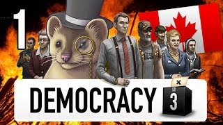 Democracy 3 Extremism - Part 1 - OH CANADA! - Let