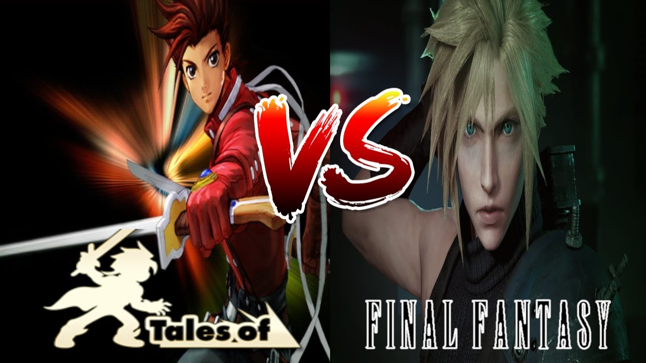 Tales of Series vs Final Fantasy JRPG Franchise Video Game Crossover