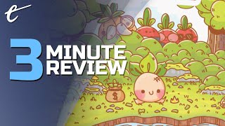 Turnip Boy Commits Tax Evasion | Review in 3 Minutes (Video Game Video Review)