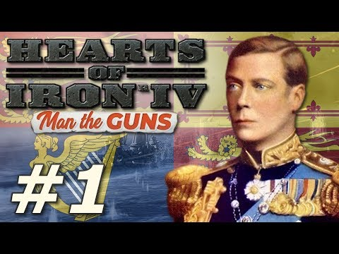 HoI4: Man The Guns | The New British Empire - Part 1