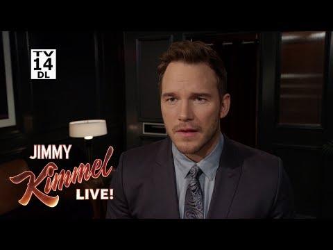 Download Youtube: Chris Pratt Prepares to Guest Host Kimmel
