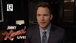 Chris Pratt Prepares to Guest Host Kimmel