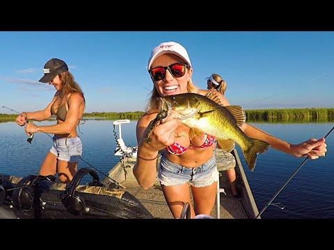Bikini Bass Fishing Calendar Shoot - Part 1