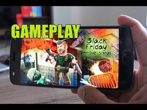 Black Friday Zombie Shops - Gameplay no Android