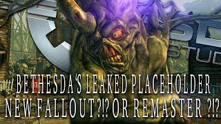 New Bethesda Game Listing LEAKED, Could This Be Fallout 3 Remastered ?