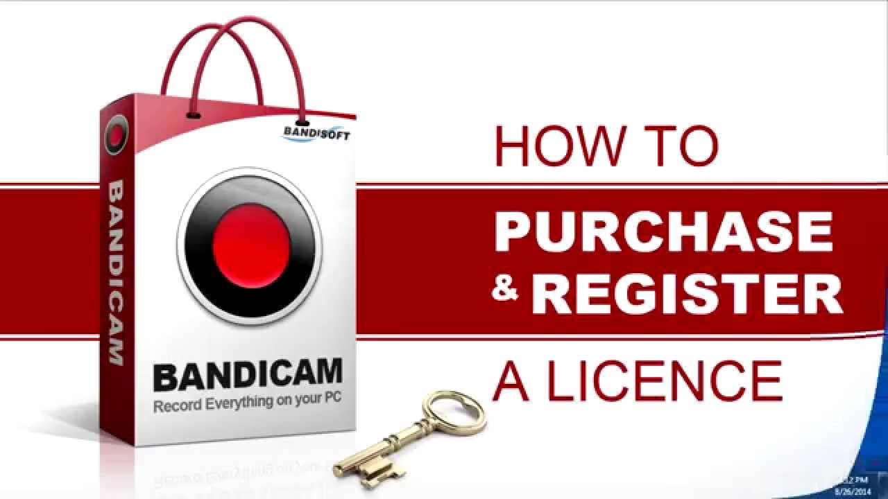 how to get bandicam registered for free