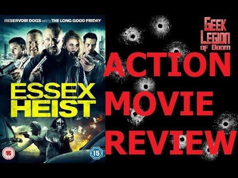 ESSEX HEIST ( 2017 Glenn Salvage ) Gangster Crime Action Movie Review