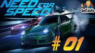 Need for speed 2015 - Gameplay ITA - Walkthrough #01 - La nostra prima auto