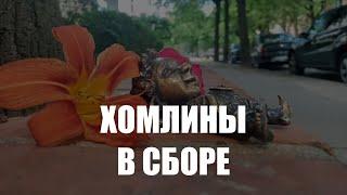 В Калининграде появились две новые фигуры хомлинов