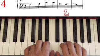 John Thompson`s easiest piano course, part 1, Nobody Knows the Trouble I`ve Seen