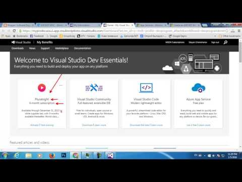 Create A Default ASP.NET MVC App And Deploy To Azure