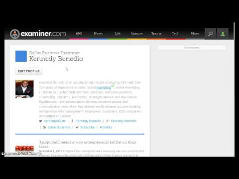 Kennedy Benedio - Dallas Business Examiner Writer