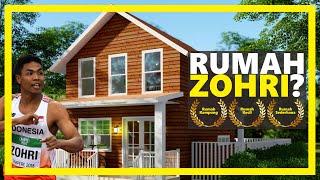 Gambar cover Desain Rumah Kecil & Sederhana ( Inspirasi dari Rumah Zohri ) - KODE : SG-001