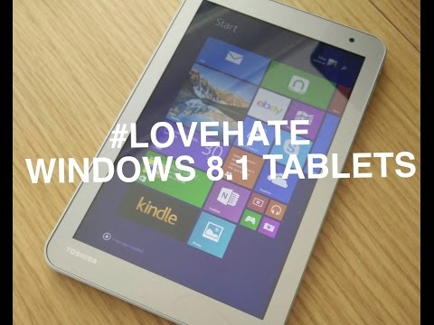 REVIEW - Toshiba Encore 2 #LOVEHATE