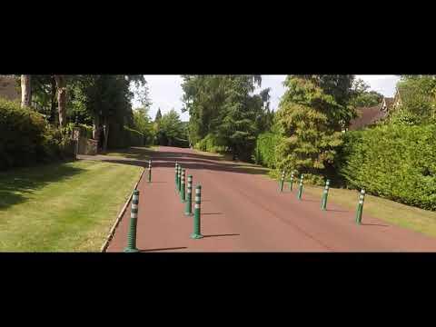 Surrey Walks With Adobe Premiere Pro Stabilization Covering Walton On Thames Weybridge Surrey UK