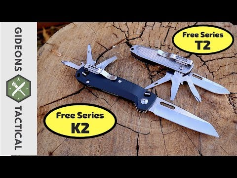 All You Need To Know Good & Bad: Leatherman Free T2 & K2