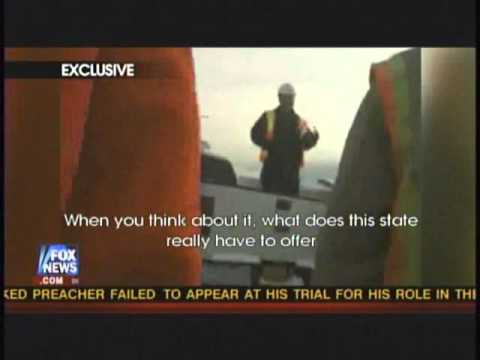 Federal Contractor in Alaska Caught On Tape