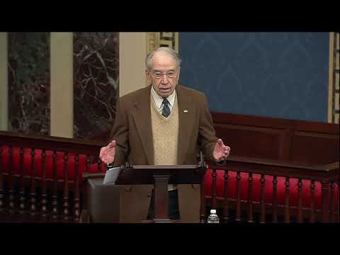 Grassley on the Unifying Nature of America's Founding Principles