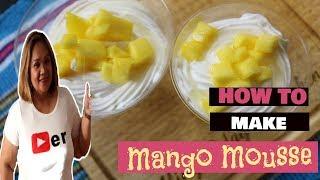 Mango Mousse  ANG SARAP!!