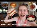 what I eat in a day - the best breakfast, a sandwich stack + divine dessert - anorexia recovery